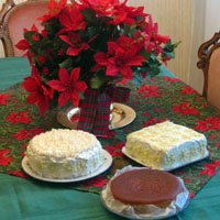 My X-mas caces: Schwartzw?lder Kirschtorte, Nigella's Clementine Cake and a Carrot Cake with Lemon-Philadelphia frosting