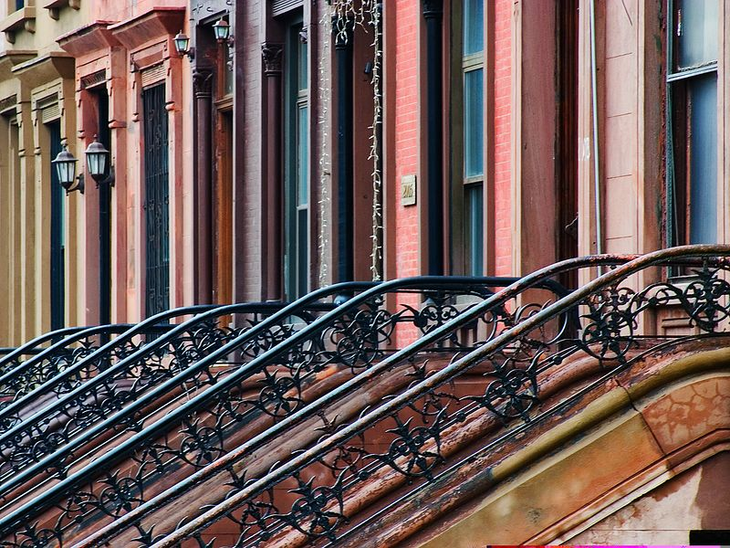 Stately Harlem Brownstones