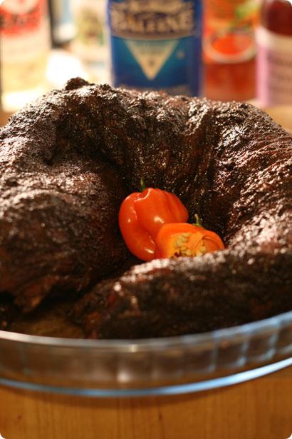 Beef Tenderloin in Habanero Marinade